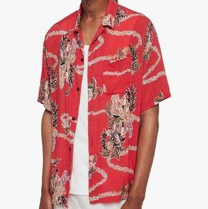 AllSaints Makalika Short Sleeve Shirt